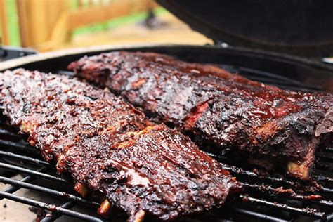 fall off the bone pork ribs succulent summer supper