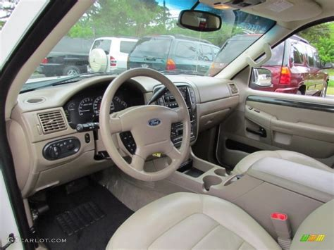 2002 Ford Explorer Interior by Medium Parchment Interior 2002 Ford Explorer Limited 4x4