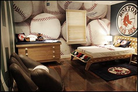 baseball bedroom wallpaper decorating theme bedrooms maries manor baseball