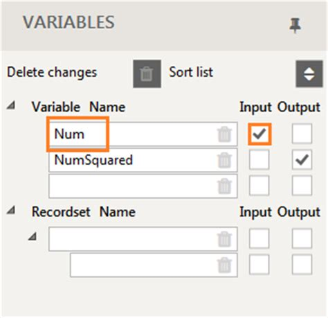 how to work with data and variables in warewolf