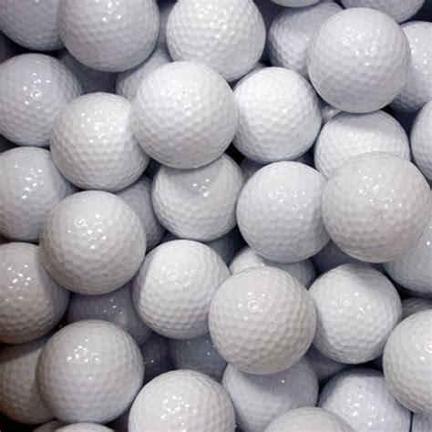 golf balls plain non imprinted golf balls