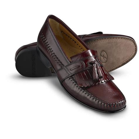 burgundy dress shoes s florsheim 174 bramwell kiltie tassel shoes burgundy