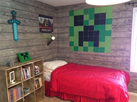 minecraft bedroom  son loves  minecraft pinterest