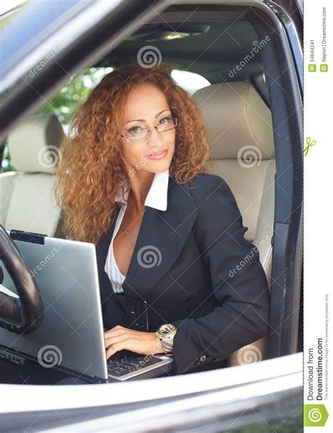 beautiful middle age black women beautiful woman in car stock image image 34644241