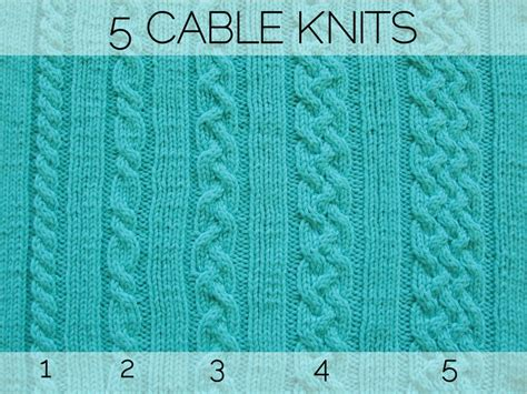 how to knit cables five cable knits how did you make this luxe diy