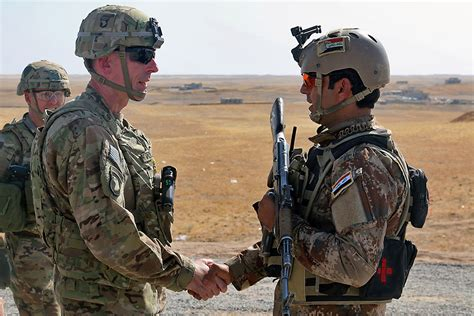 us special forces in iraqi special forces join battle for mosul u s soldier