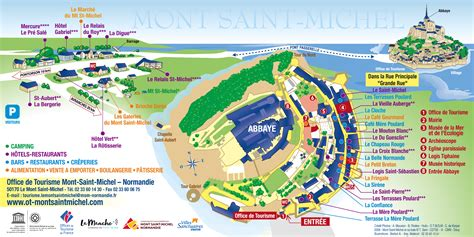 site officiel de l office de tourisme du mont michel