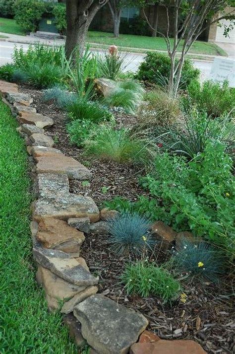 rocks for garden borders best 25 flower bed edging ideas on lawn