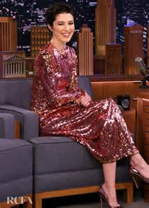 mary elizabeth winstead wore preen   tonight show