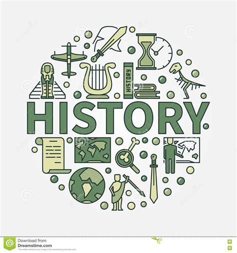 imagenes de simbolos historicos s 237 mbolo redondo verde de la historia ilustraci 243 n del