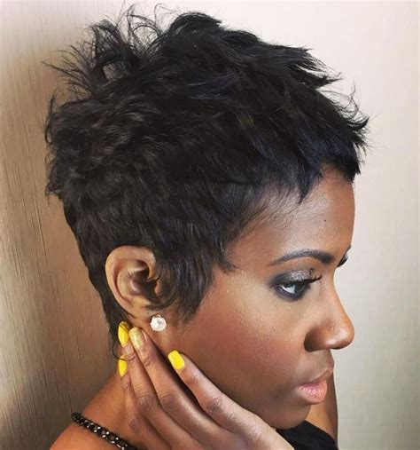 black women dovetail hair cut pixie haircuts for thick hair 40 ideas of ideal short