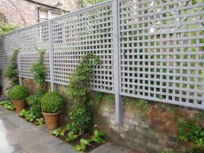 Trellis Capping Outdoor Outdoor Privacy Screen Ideas Privacy Lattice