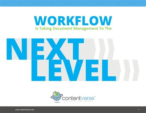 workflow and document management workflow taking document management to the next level