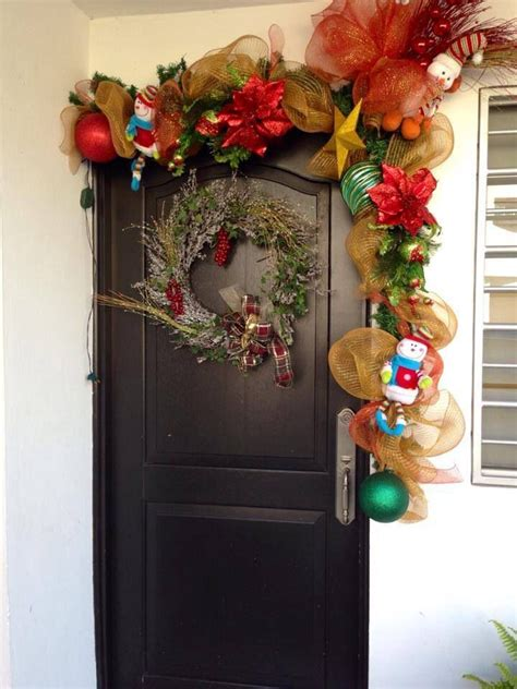 decoracion navideña para puertas adornos navideos para puertas reno para decorar las