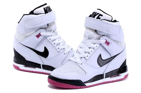 Nike Wedges Pink White nike wmns wedges air revolution sky hi shoes white black