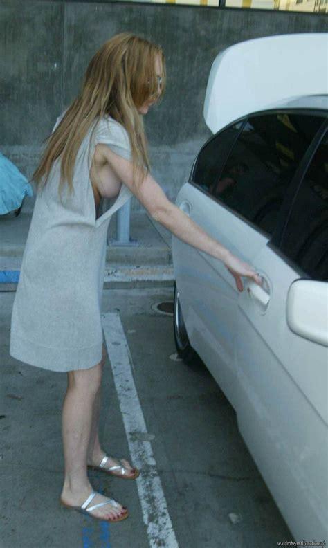 Lindsay Lohan Is by Lindsay Lohan Wardrobe Malfunction