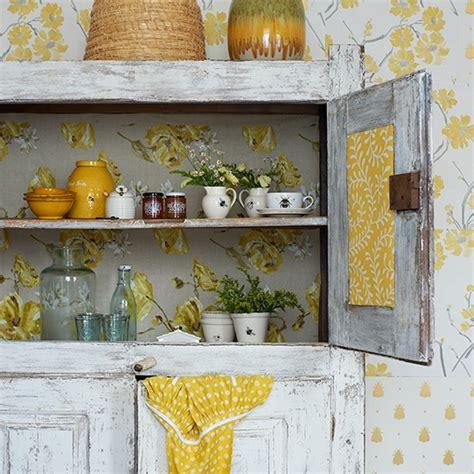 kitchen wallpaper grey and yellow yellow and grey kitchen with bee motif botanical room