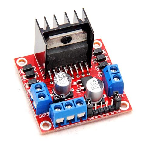 L298 Motor Driver By Warungarduino l298 dual h bridge dc motor or stepper motor drive
