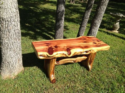 cedar log bench for the bus stop for the home pinterest 20 best images about benches on pinterest cable myrtle beach sc and fiji