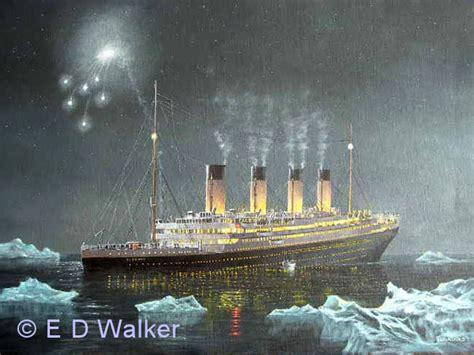 sinking of the rms titanic marine artist titanic artist edward d walker
