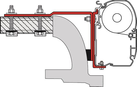 mercedes vito awning fiamma awning bracket kit mercedes vito 98655 284 buy securely