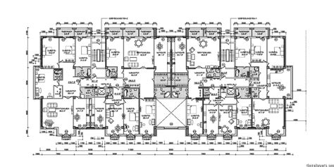 residential building antarain floor plans architecture