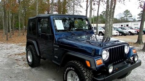 2002 Jeep Wrangler Models 2002 Jeep Wrangler Ii Tj Pictures Information And