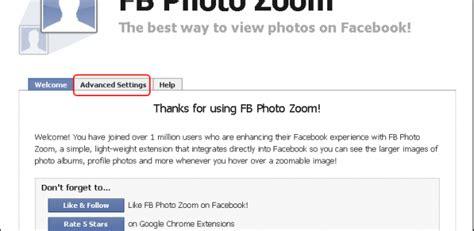 fb zoom facebookの写真を拡大表示するchrome拡張機能 fb photo zoom for chrome