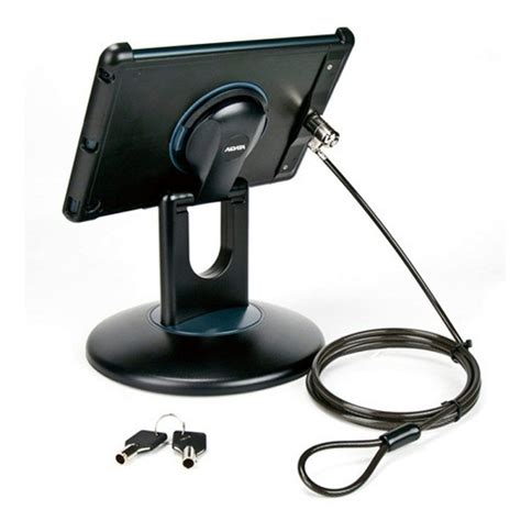 Desk Stand Secure by Air 1 2 Anti Theft Security Station Black Mount Desk