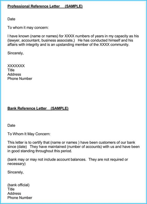 Accountant Reference Recommendation Letters 15 Sles Formats Reference Letter Template
