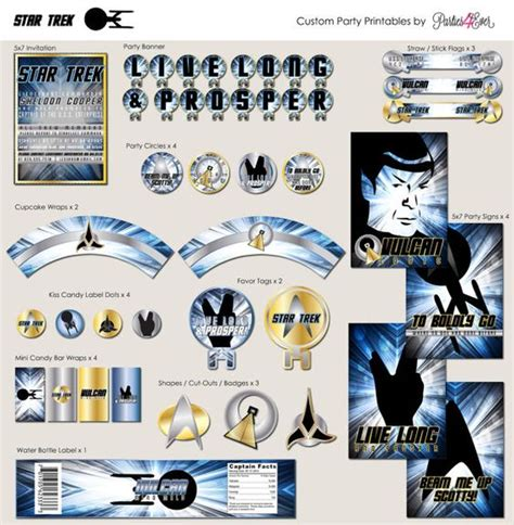 printable star trek pinterest the world s catalog of ideas