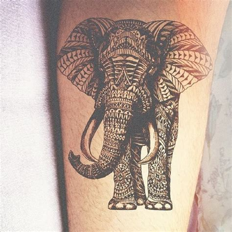 tattoo elephant black 20 mandala tattoo images pictures and ideas