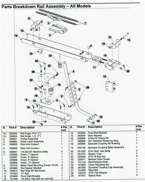 liftmaster garage door opener wiring diagram wiring diagram