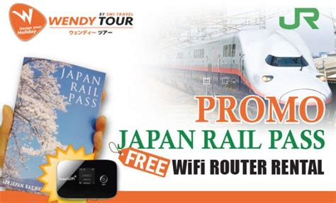 Wifi Jalan promo jr pass free wifi router 3 hari liburan ke jepang