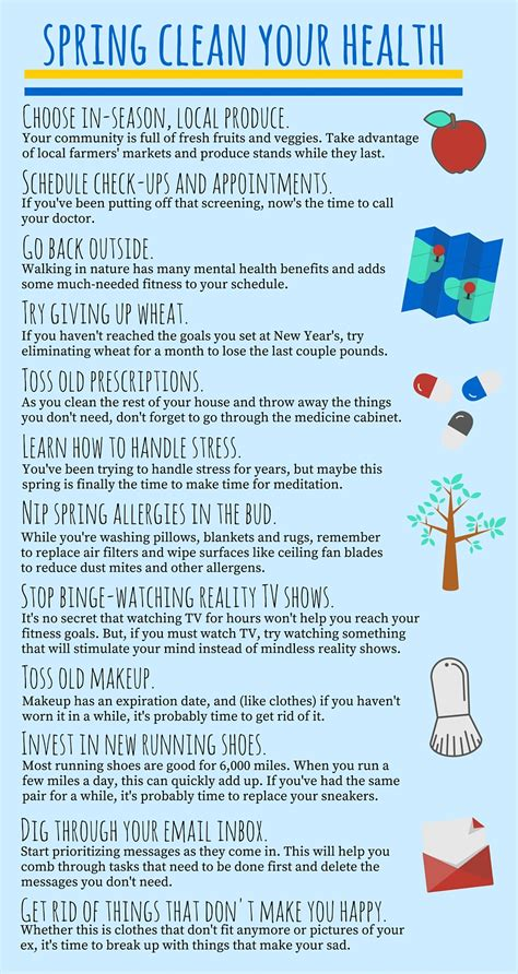 spring tips how to spring clean your health smarthealthtoday
