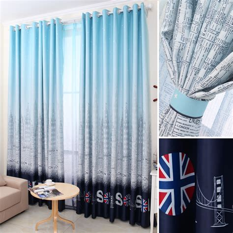 blue bedroom curtains uk popular curtains uk buy cheap curtains uk lots from china