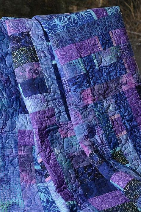 Purple Quilt by Beautiful Quilt In Purples Purple