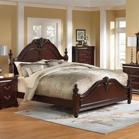 westchester poster bed in rich 826xx