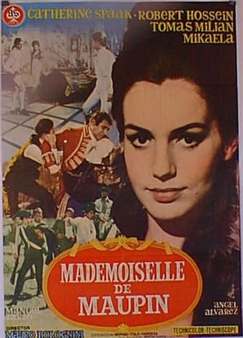 mademoiselle de maupin 8439720564 quot mademoiselle de maupin quot movie poster quot madamigella di maupin quot movie poster