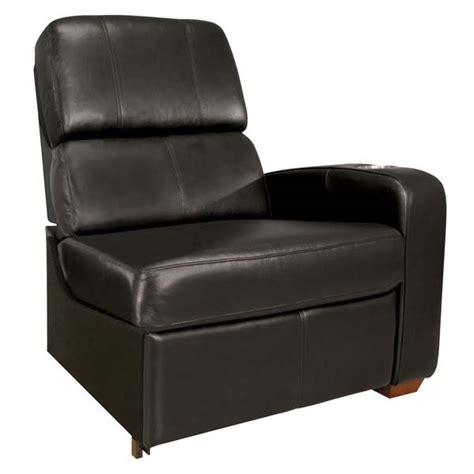 bello home theater seating right arm recliner black or