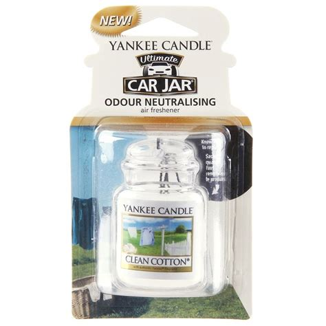 candele yankee candle italia clean cotton car jar ultimate yankee candle candle