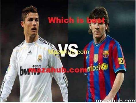 messi and ronaldo who is the best lionel messi vs cristiano ronaldo which is best