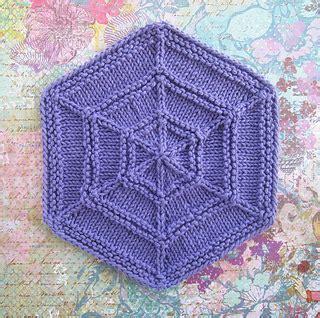 hexagon knitting pattern free ravelry outside in hexagon pattern by bisbing