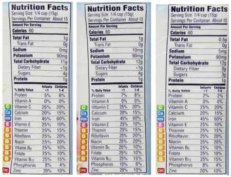 Baby Rice Cereal Nutrition Facts - Nutrition Ftempo Leo's Coney Island Menu
