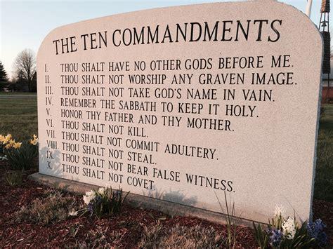 The Ten Commandments steven l catholics butcher the 10 commandments