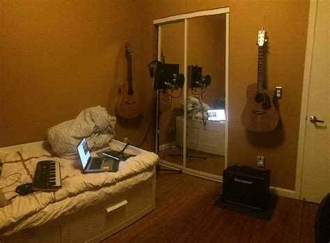 Setup Home Studio Recording Rap Vocals Yourself Create Your Own Home Recording Studio