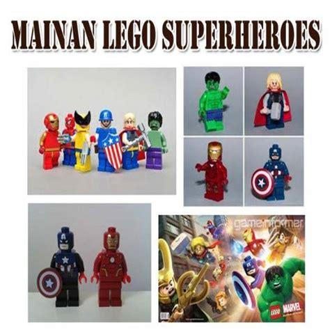 Spidol Warna Set Batman Captain America Murah mainan lego marvell 164 barang unik china barang unik murah grosir