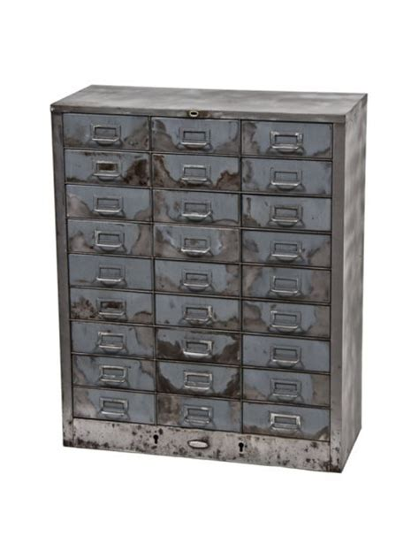 industrial cabinet stissing design care partnerships intact american vintage industrial brushed metal folded