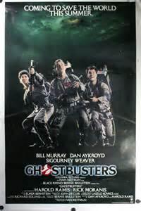 original ghostbusters poster ghostbusters bill murray dan aykroyd sigourney weaver