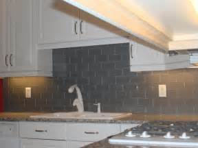 gray glass tile kitchen backsplash gray glass backsplash 3x6 new jersey custom tile